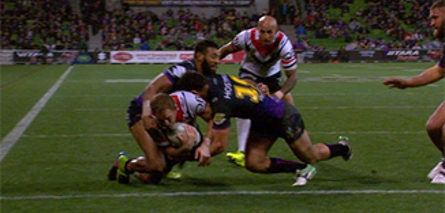 Full Match Replay: Melbourne Storm v Sydney Roosters (2nd Half) - Round 23, 2017