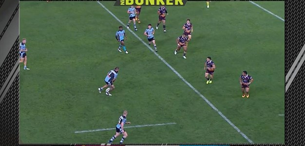 Rd 23: Broncos v Sharks - No Try 73rd minute
