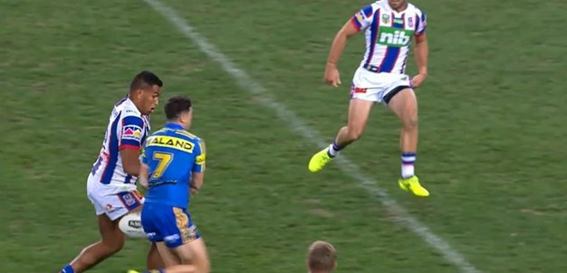 Rd 23: Eels v Knights - No Try 75th minute