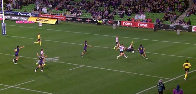 Rd 23: Storm v Roosters - Penalty Try 26th minute