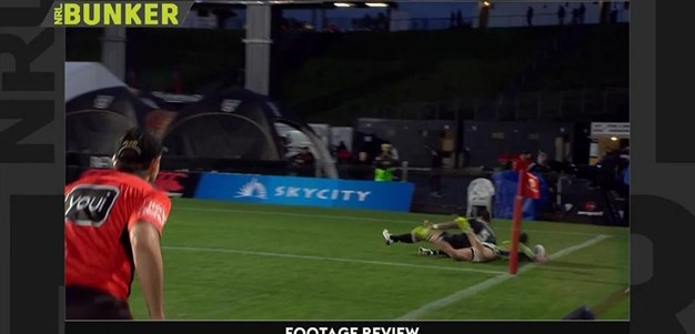 Rd 23: Warriors v Raider - No Try 77th minute