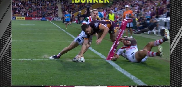 Rd 24: Broncos v Dragons - Try 68th minute - Corey Oates