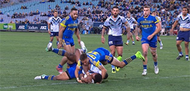 Full Match Replay: Parramatta Eels v Gold Coast Titans (2nd Half) - Round 24, 2017