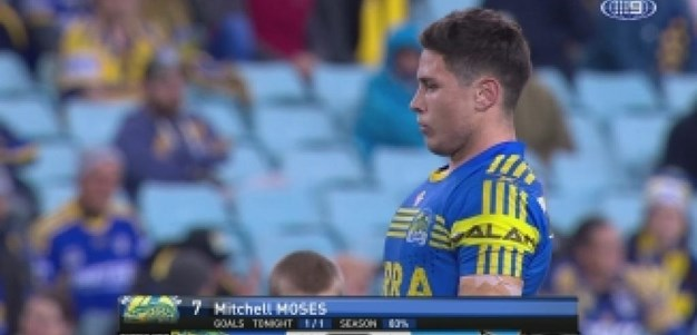 Rd 24: GOAL Mitchell Moses (26th min)