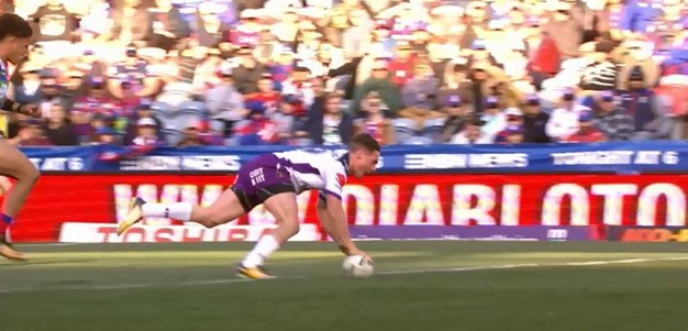 Rd 24: Knights v Storm - Try 49th minute - Brodie Croft