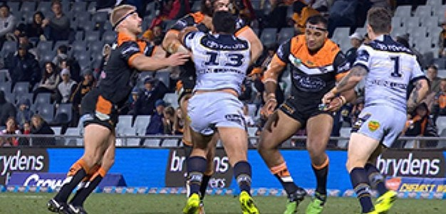 Full Match Replay: Wests Tigers v North Queensland Cowboys (2nd Half) - Round 25, 2017