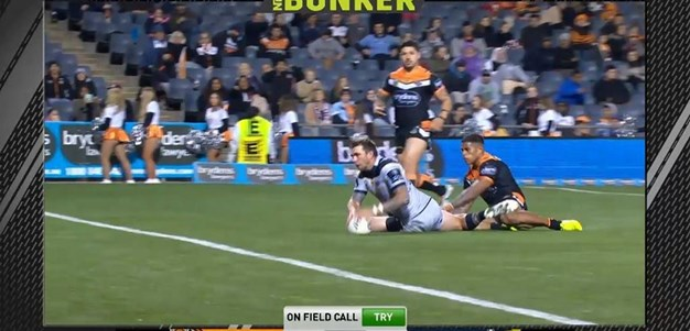Rd 25: Tigers v Cowboys - Try 68th minute - Kyle Feldt