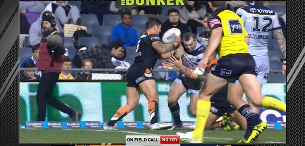 Rd 25: Tigers v Cowboys - No Try 73rd minute