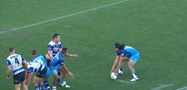 Rd 25: Titans v Bulldogs - No Try 33rd minute