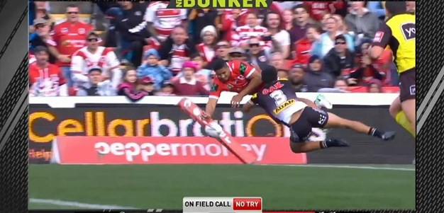 Rd 25: Panthers v Dragons - No Try 5th minute