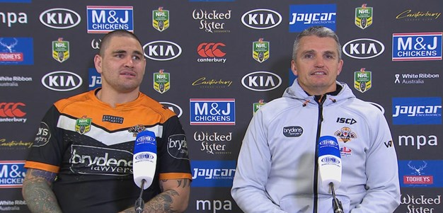 Wests Tigers press conference - Round 20