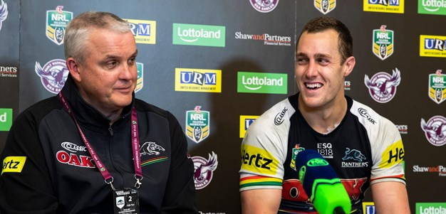 Panthers press conference - Round 20
