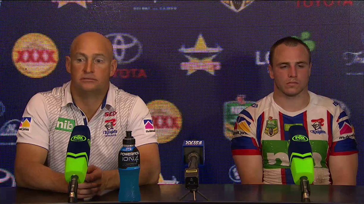 Knights press conference - Round 20