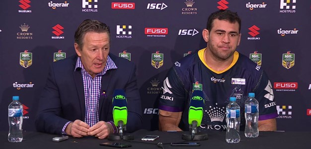 Storm press conference - Round 20
