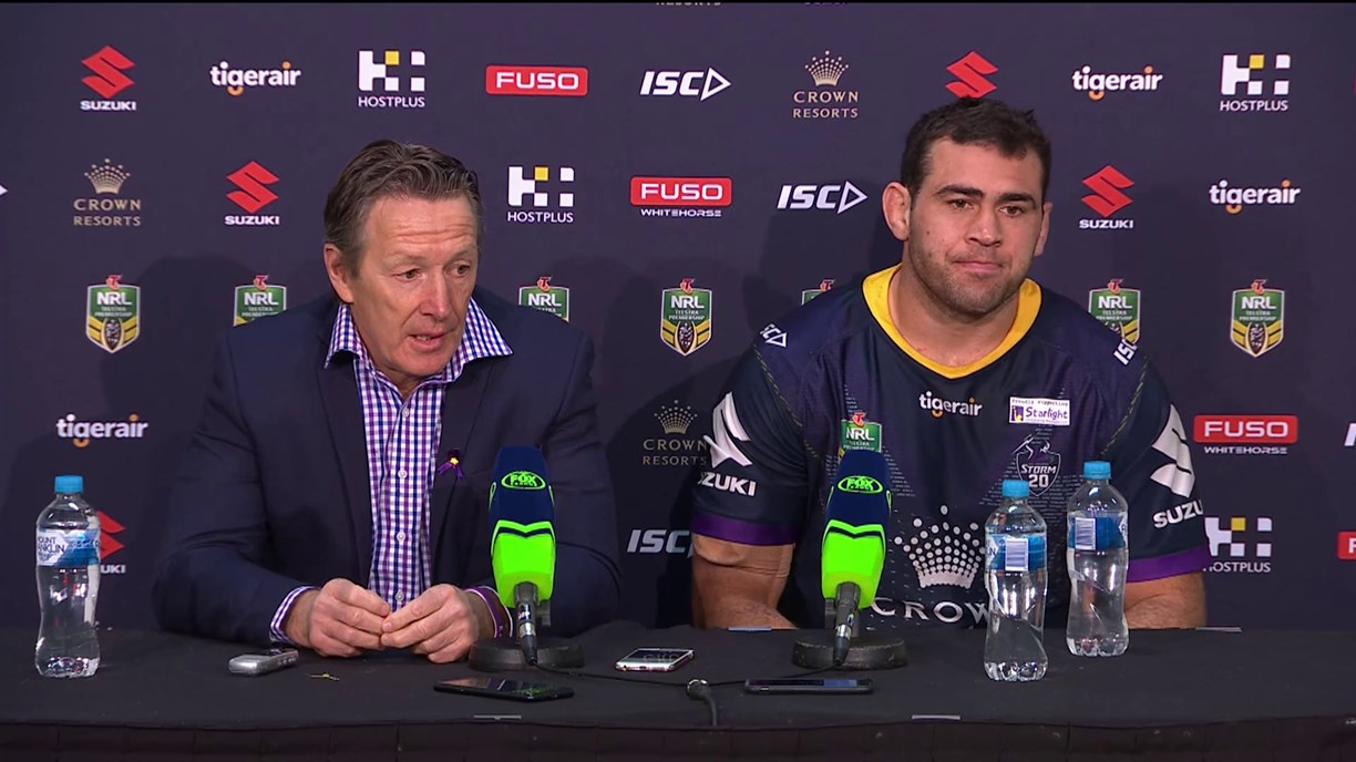 Storm press conference – Round 20