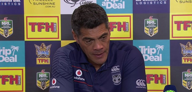 Warriors press conference: Round 20, 2018