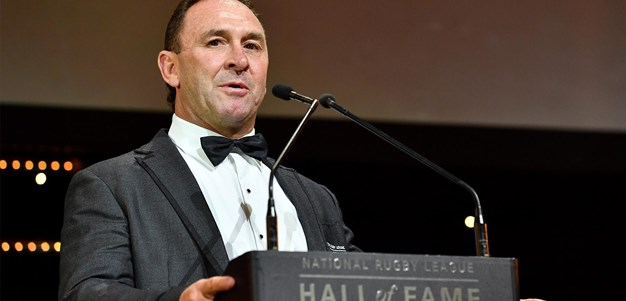 Ricky Stuart inducted into the Hall of Fame
