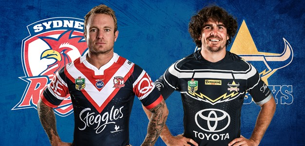 Roosters v Cowboys - Round 21