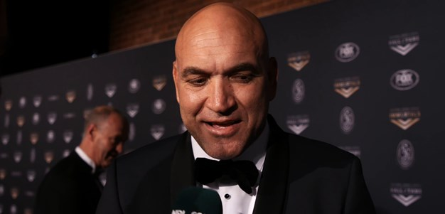 Gorden Tallis inducted into the Hall of Fame
