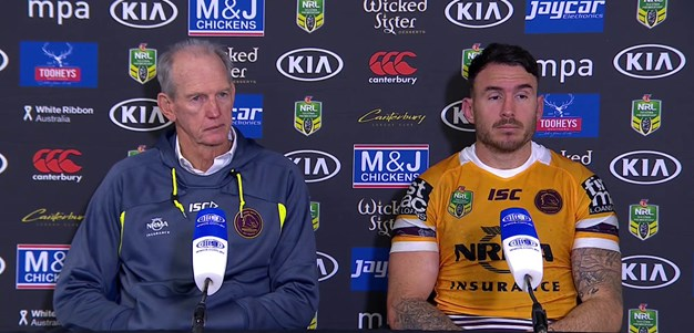 Broncos press conference - Round 21
