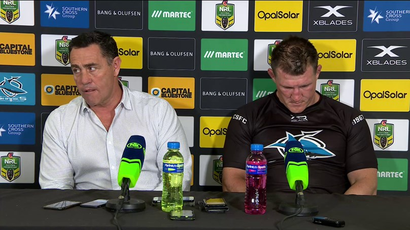 Sharks press conference - Round 21, 2018