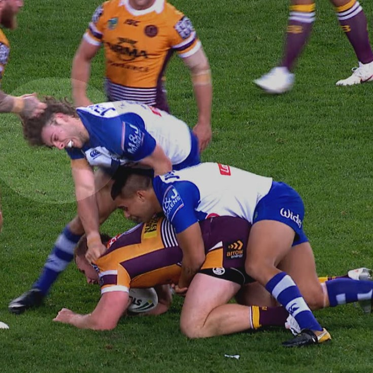 McGuire charged for hair pull