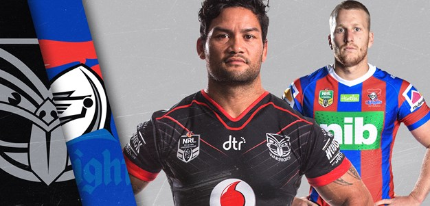 Warriors v Knights - Round 22
