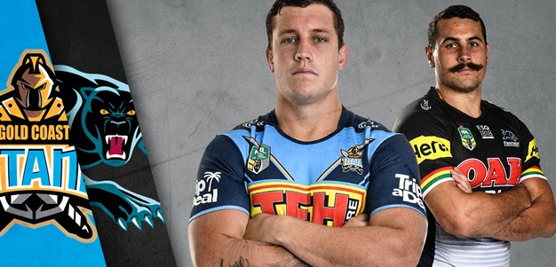 Titans v Panthers - Round 22