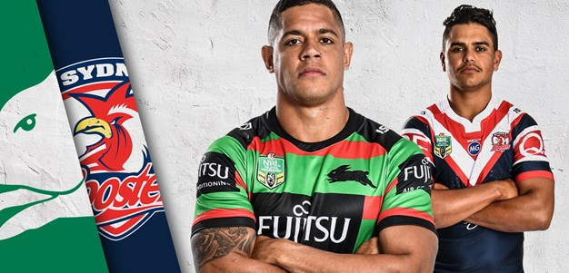 Rabbitohs v Roosters - Round 22
