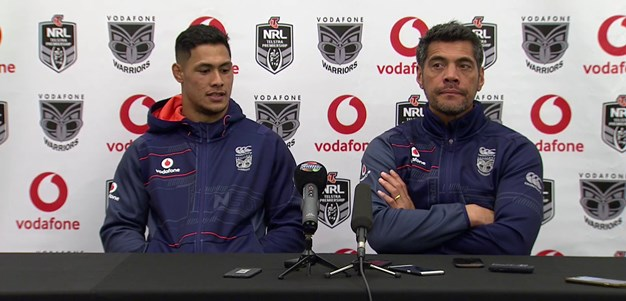 Warriors press conference - Round 22, 2018