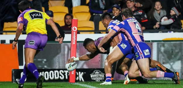 Match Highlights: Warriors v Knights - Round 22, 2018