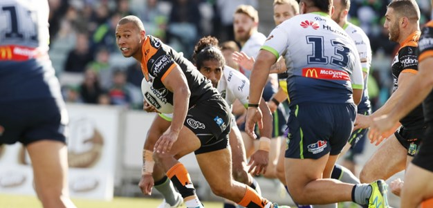 Match Highlights: Raiders v Wests Tigers - Round 22, 2018