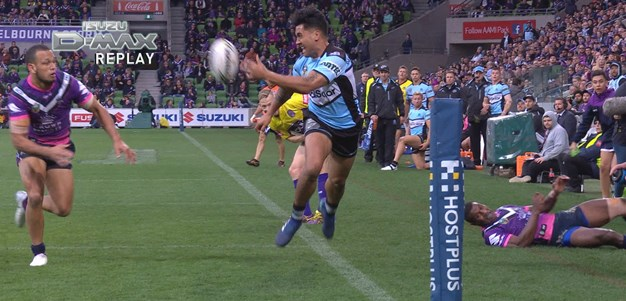 Holmes finishes off great Sharks try