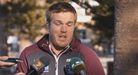 Manly players talk about Barrett's future