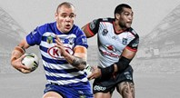 Bulldogs v Warriors - Round 23