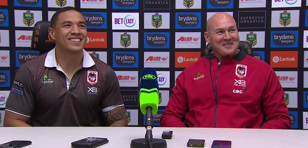 Dragons press conference - Round 23; 2018