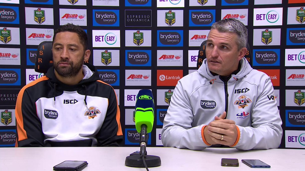 Wests Tigers press conference - Round 23; 2018