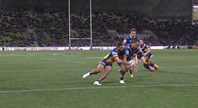 Chambers scores Melbourne's first try