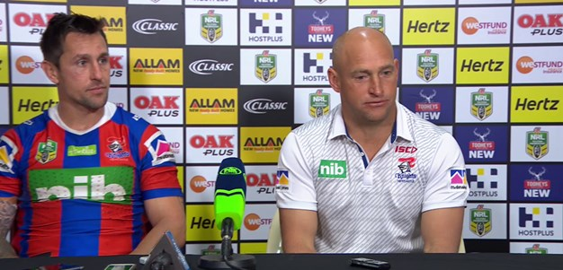 Knights press conference - Round 23; 2018