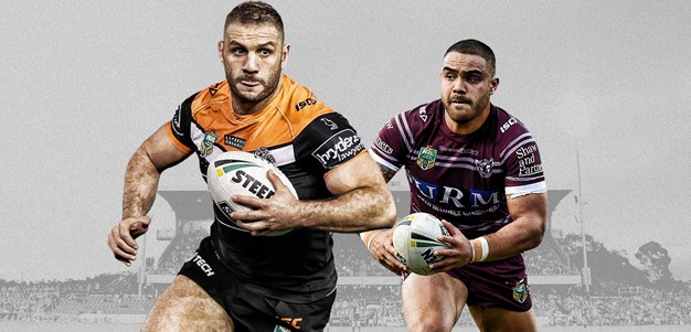 Wests Tigers v Sea Eagles - Round 24