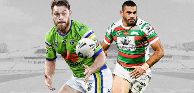 Raiders v Rabbitohs - Round 24