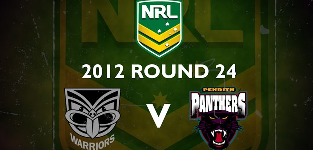 Footy Flashback: 2012 Rd 24 Warriors v Panthers