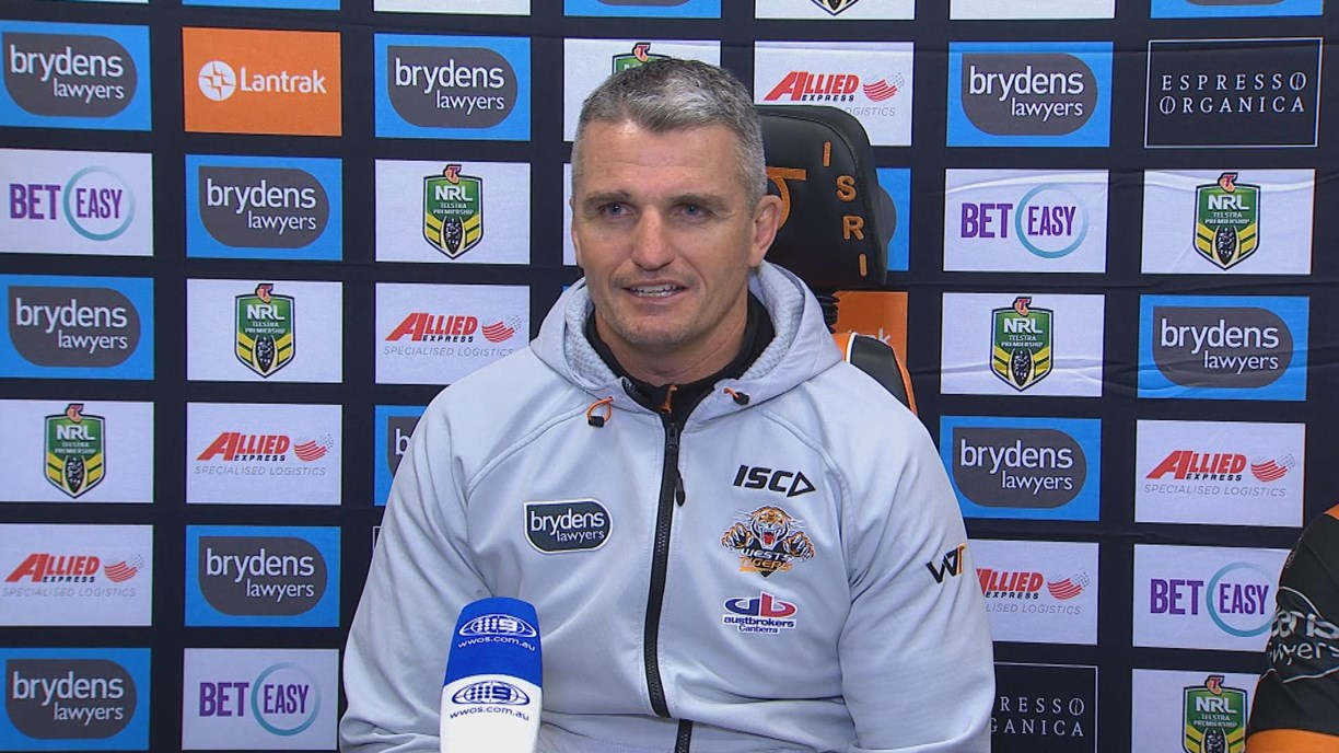 Wests Tigers press conference - Round 24