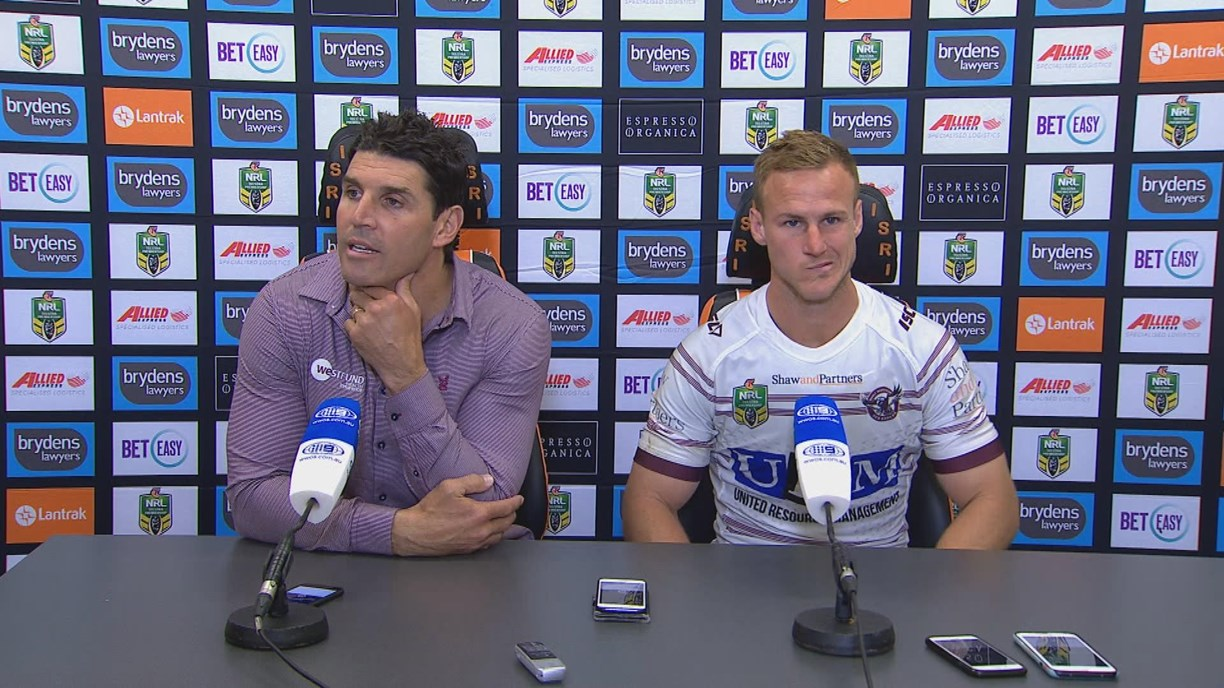 Sea Eagles press conference - Round 24