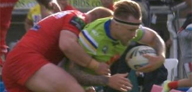 Full Match Replay: Canberra Raiders v St George-Illawarra Dragons (1st Half) - Round 3, 2015
