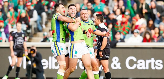 Match Highlights: Raiders v Rabbitohs - Round 24, 2018