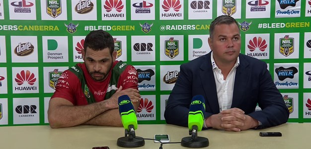 Rabbitohs press conference - Round 24; 2018