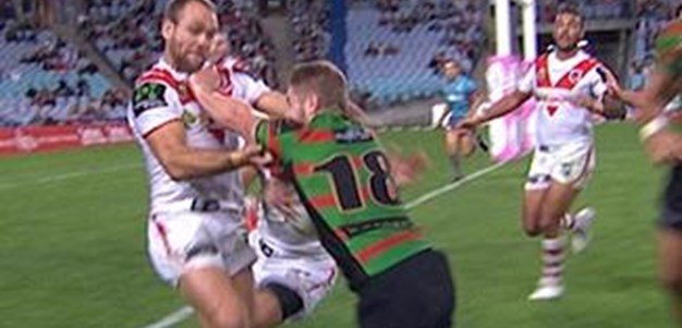 Full Match Replay: South Sydney Rabbitohs v St George-Illawarra Dragons (2nd Half) - Round 9, 2015