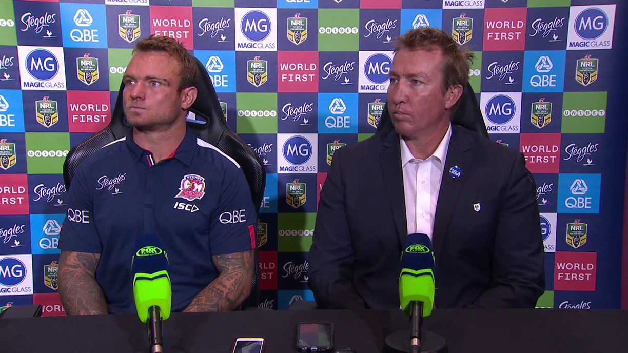 Roosters press conference - Round 24; 2018