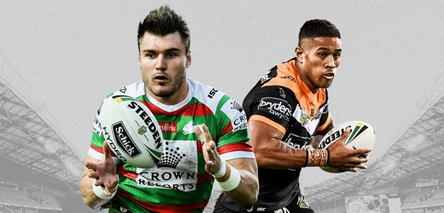 Rabbitohs v Wests Tigers - Round 25